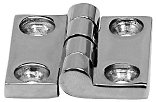 Butt Hinge Investment Cast Polished