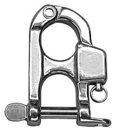 Snap Shackle Fixed Releasable Under Load