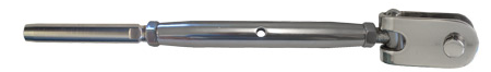 Turnbuckle With Toggle Wire Rope
